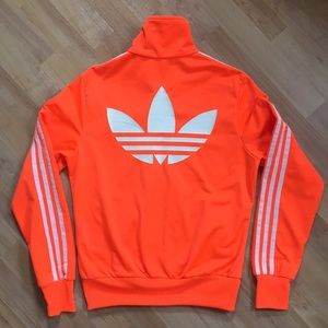 adidas black blazing red hoodie zip jacket